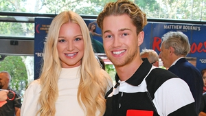 Abbie Quinnen and AJ Pritchard, pictured in London in August 2019