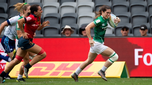 Amee Leigh Murphy Crowe has been a star in the sevens game for Ireland for a number of years