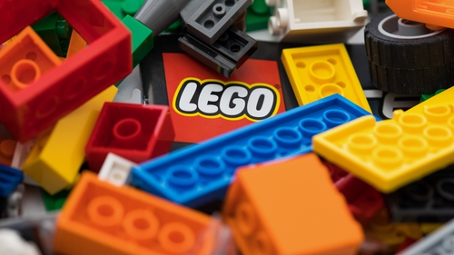 Lego said it expects to begin selling toy building bricks made from recycled plastic bottles in 18 to 24 months