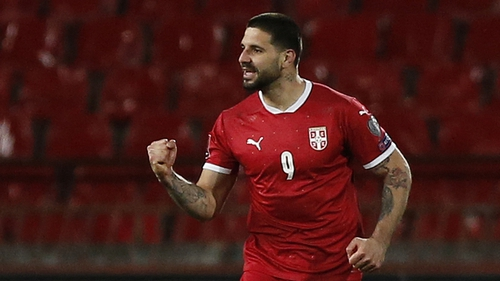 Aleksandar Mitrovic caused havoc for Ireland when the sides met in March