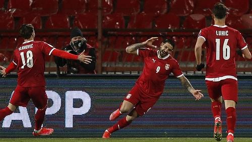 Aleksandar Mitrovic broke Irish hearts in Belgrade with two goals in 12 minutes