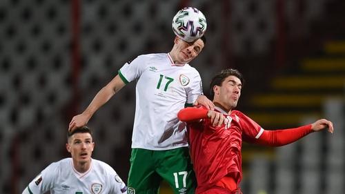 Josh Cullen impressed against Serbia