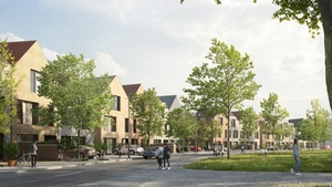 The 304 new homes will be in a development called Cherry Lane, in Dublin's Cherrywood