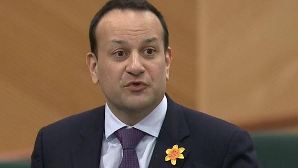 Tanáiste Leo Varadkar praised 'the enormous efforts of the Irish people'