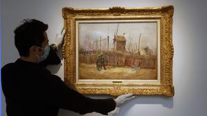 Van Gogh's Street Scene in Montmartre