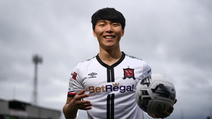 Han Jeongwoo is the first Korean player to sign for Dundalk and just the fourth to play in the League of Ireland