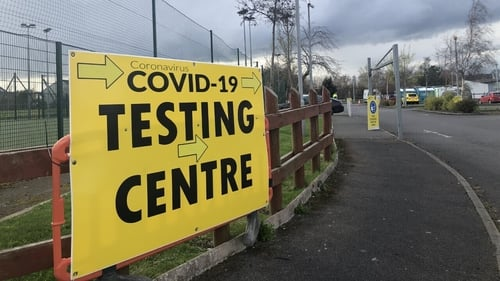 Walk-in test centres have opened in Dublin and Offaly
