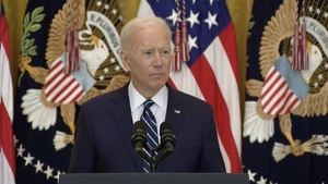 Joe Biden said the decision to leave one's home country is a difficult choice to make