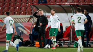 Stephen Kenny has yet to win a game as Ireland boss but Paul Corry thinks we need to take a long-term view