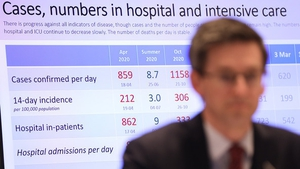 The HSE said disease levels in the community were not decreasing despite restrictions
