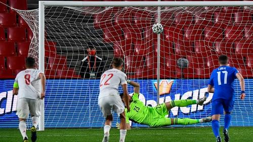 Tasos Bakasetas scores for Greece