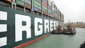 Salvage crews have managed to move the giant container ship that has been clogging up the Suez Canal for nearly a week