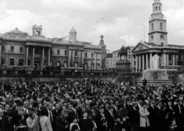 Trafalgar Square, London (1966)