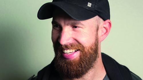 Comedian Damian Clark