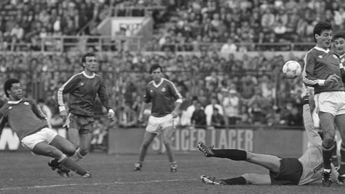 Paul McGrath, who scored the winner against Luxembourg, was also on the scoresheet against Bulgaria a month later