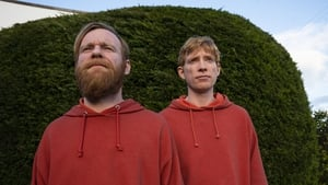 Brian and Domhnall Gleeson in Frank of Ireland