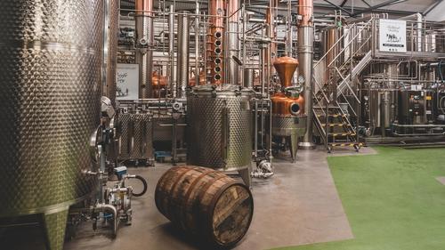 The inner workings of Ballykeefe Distillery