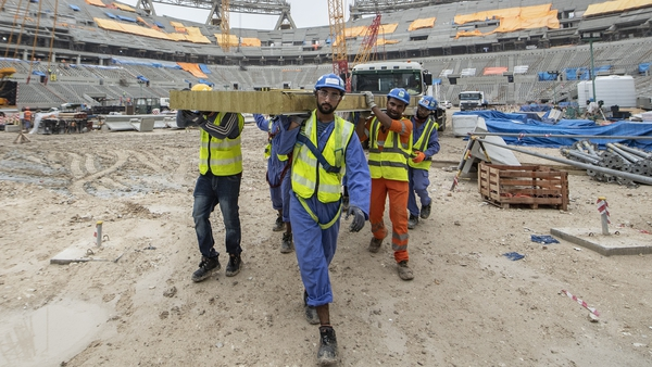 The working conditions for those building Qatar's World Cup stadiums have been heavily criticised