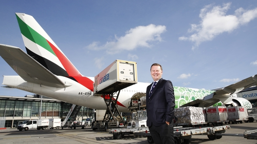 Enda Corneille, Country Manager for Emirates
