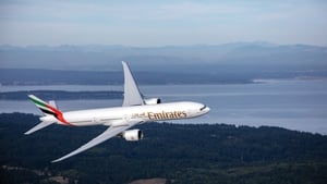 Passenger traffic at Emirates plummeted by 88.3% to just 6.5 million last year