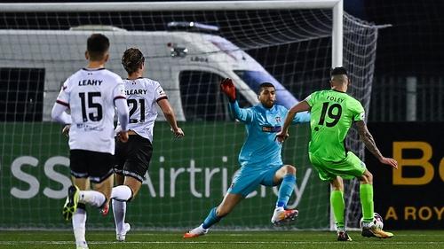 Adam Foley scores Finn Harps second goal
