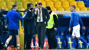 Ian Baraclough's Northern Ireland side caught the eye in the second half of their defeat to Italy