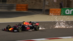 Red Bull's Dutch driver Max Verstappen during qualifying