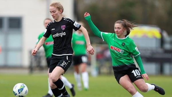 Match-winner Eleanor Ryan-Doyle shadows Wexford Youths Aoibheann Clancy