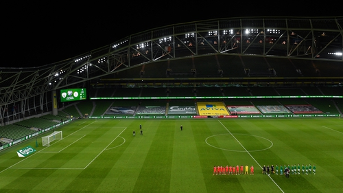 Ireland will not feature at Euro 2020, but it is hoped some games will remain in Dublin