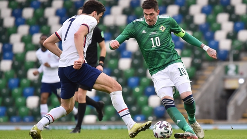 Kyle Lafferty sees a bright future for Northern Ireland