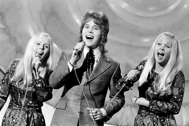 2109/098 Marco Aru representa a Finlandia en el Festival de Eurovisión (1971)