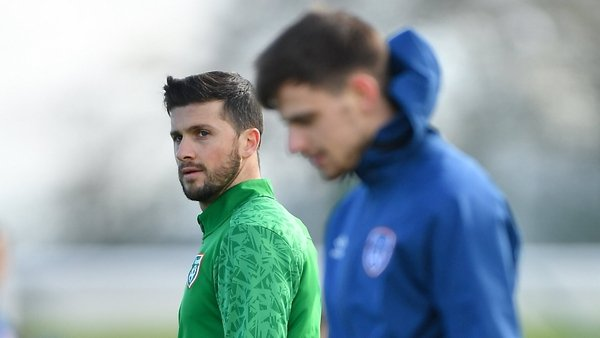 Will Shane Long (L) and Jayson Molumby get another chance in Hungary?