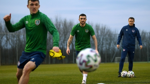 Will Troy Parrott see more game-time against Qatar?