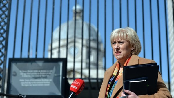 Heather Humphreys said she wanted to reassure the public that when the call 999 they will get an appropriate policing response