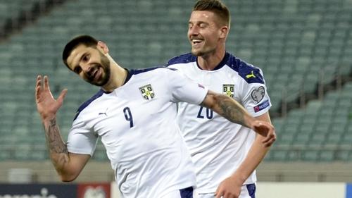 Aleksandar Mitrovic was Serbia's hero again
