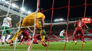 James McClean scored his 11th international goal