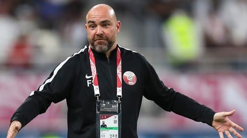 Qatar coach Felix Sanchez Bas