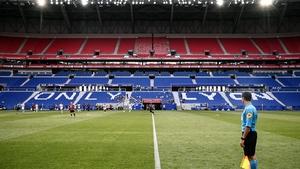 The Groupama Stadium in Lyon