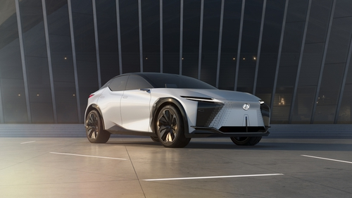 The shape of Lexus to come - the LF-Z