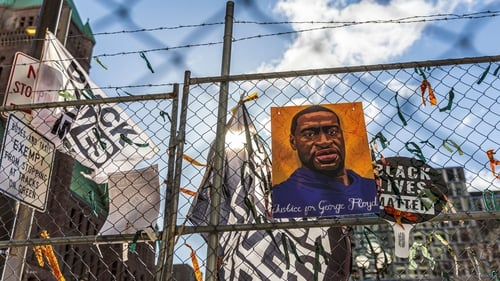 George Floyd's death triggered protests against racial injustice and police brutality in the US and around the world
