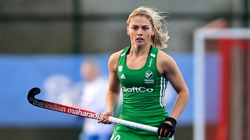 Chloe Watkins during the SoftCo Series against Team GB