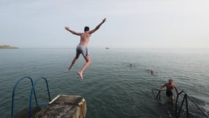 Sea swimming saw an explosion in popularity during the summer of 2020.