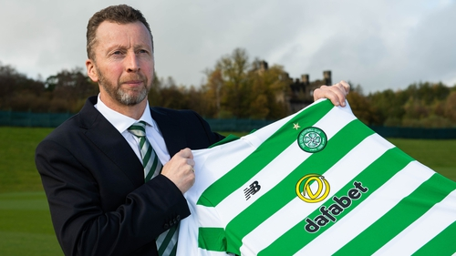 Nick Hammond was appointed Celtic's Director of Football in 2019