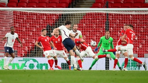 Harry Maguire fires home the winner at Wembley