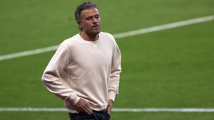 Luis Enrique and several of his assistants were stuck in a lift in the team's hotel for an hour before being rescued