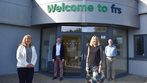 Siobhan Dooley, Financial Controller FRS Network, Colin Donnery, General Manager FRS Recruitment, Hannah Wrixon, Founder of Get the Shifts and Peter Byrne, CEO FRS Network