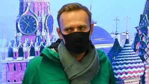 Alexei Navalny (pictured on his return to Moscow from Berlin in January) has gone on hunger strike