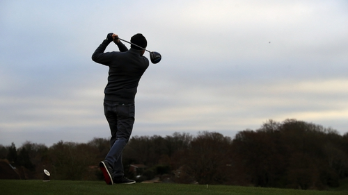 Golf courses reopened for the first time since 26 December