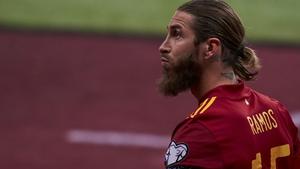 Sergio Ramos has suffered another injury setback