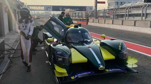 Cian Carey will race a prototype LMP3 car